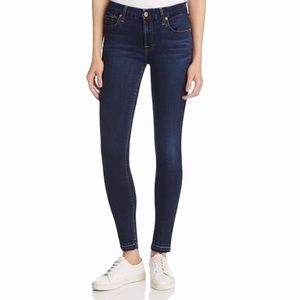 7 For All Mankind Dark Wash The Skinny Jeans